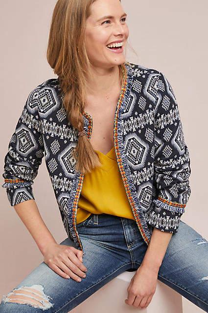 Lea & Viola Geometric Jacket