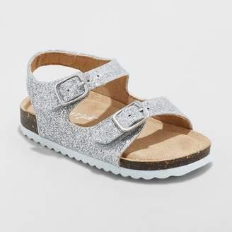 Cat & Jack Toddler Girls' Tisha Comfort Footbed Sandals
