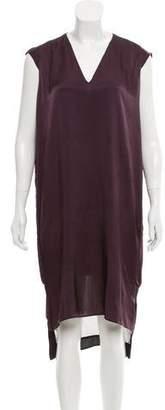 AllSaints Sleeveless Satin Dress
