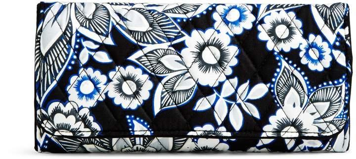 Vera Bradley RFID Trifold Wallet - FALLING FLOWERS - STYLE