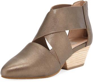 Eileen Fisher Vera Metallic Leather Sandals