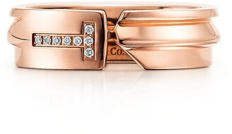 a13618179 Tiffany & Co. & Co. Keys modern keys ring in 18k rose gold with