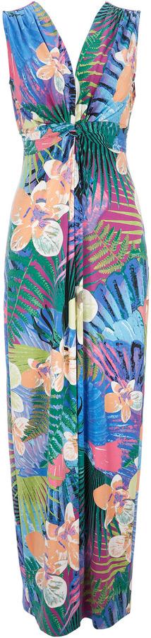 Wallis Multi-Coloured Printed Maxi Dress