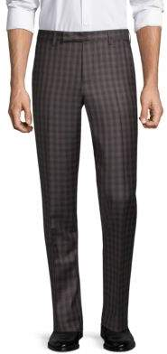 Paul Smith Slim Fit Wool Trousers