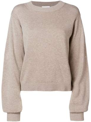 See by Chloe embroidered detail sweater