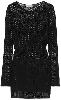 Saint Laurent Knitted cotton dress