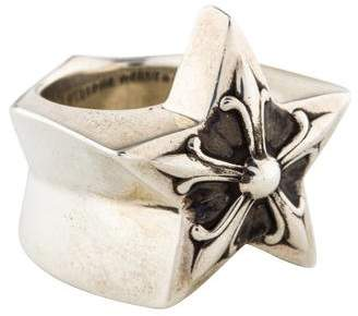 Chrome Hearts Star Cocktail Ring