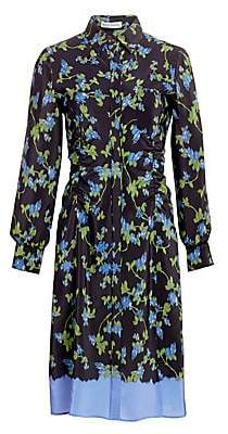 Altuzarra Women's Strada Silk Belted Dress