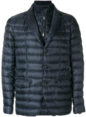 Herno layered down blazer
