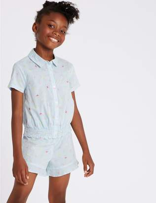 Marks and Spencer 2 Piece Top & Shorts Outfit (3-16 Years)
