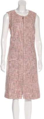 Chanel Tweed Midi Dress