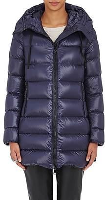 Moncler Women's Suyen Down Coat $1,225 thestylecure.com