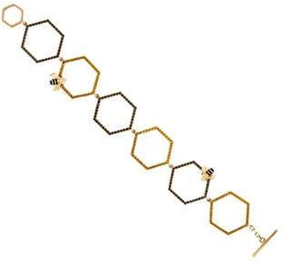 Alison Lou 14K Diamond & Sapphire Queen Bee Link Bracelet