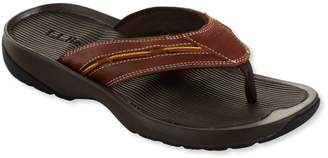 L.L. Bean L.L.Bean Men's Freeport 1912 Flip-Flop Sandals, Leather