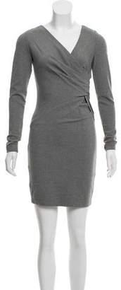 Robert Rodriguez Mini Ruched Dress