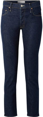 Mother The Stinger Flood High-rise Slim-leg Jeans