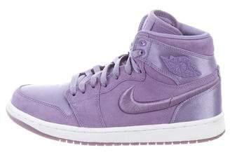 Nike Jordan Suede High-Top Sneakers