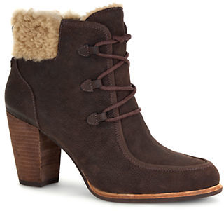 UGGUgg Analise Sheepskin-Lined Leather Booties