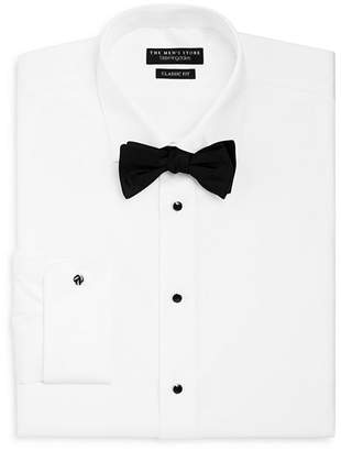 Bloomingdale's The Men's Store at Classic Fit Formal Dress Shirt with Removable Stud