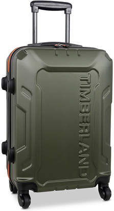 """Timberland Boscawen 21"""" Carry-On Lightweight Hardside Spinner Suitcase"""