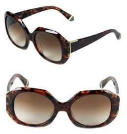 Zac Posen Ingrid 54MM Square Sunglasses