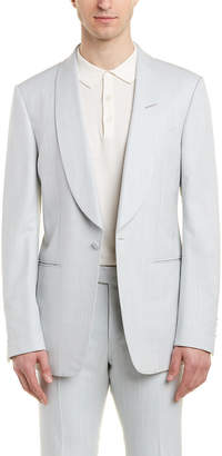 Tom Ford Shelton 2Pc Silk Suit With Flat Pant