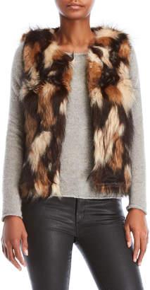 Vintage Havana Reversible Faux Fur Vest