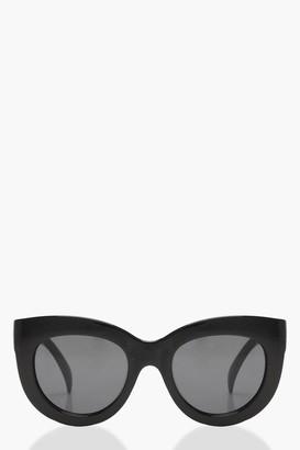 boohoo Oversized Cat Eye Sunglasses