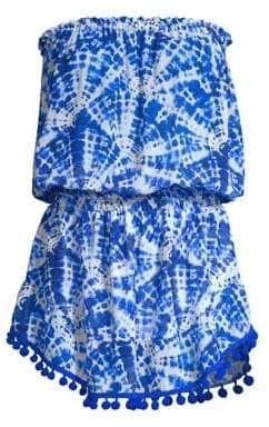 Ramy Brook Printed Marcie Strapless Mini Dress