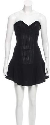 Derek Lam Strapless Mini Dress