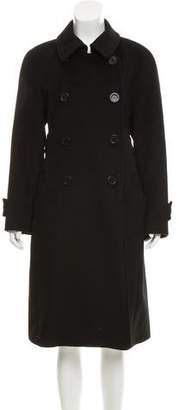Cacharel Double-Breasted Wool Coat