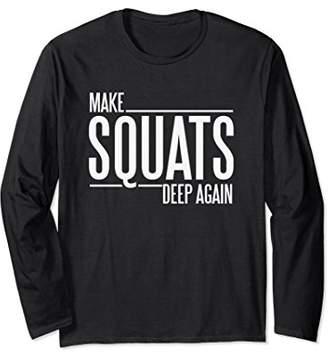 DAY Birger et Mikkelsen Funny Make Squats Deep Again Leg Workout Long Sleeve