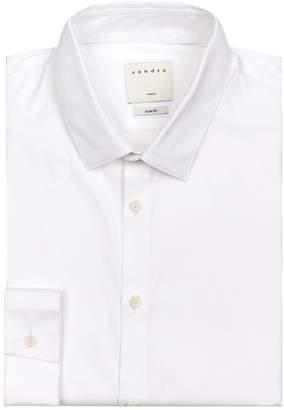 Sandro Cotton-Stretch Shirt
