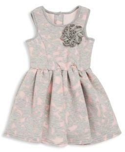 Toddler's & Little Girl's Floral Appliqued Dress $68 thestylecure.com