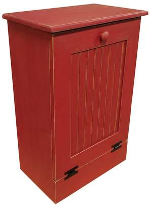 Rebrilliant Manual Solid Wood Manual Lift Pull Out Trash Can