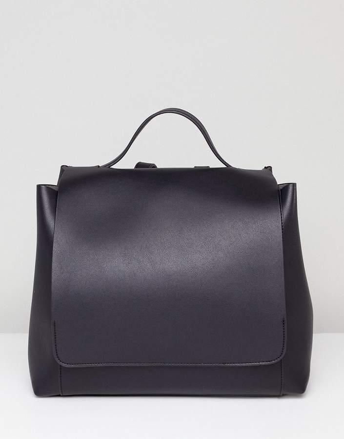 ASOS DESIGN large minimal backpack