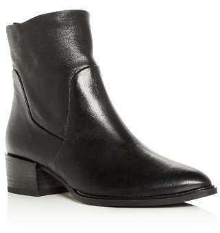 Paul Green Women's Trey Leather Block-Heel Booties