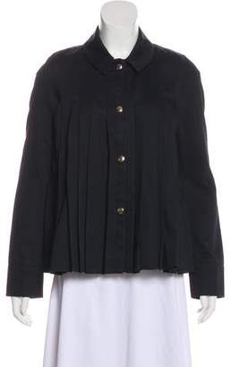 Marni Pleated Casual Jacket