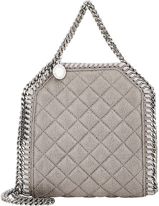 Stella McCartney Women's Falabella Shaggy Deer Tiny Tote $865 thestylecure.com
