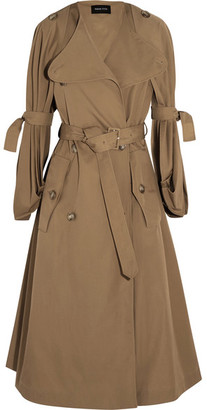 Simone Rocha - Twill Trench Coat - Sand $2,330 thestylecure.com