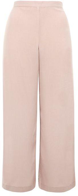 TopshopTopshop Crinkle wide leg trousers