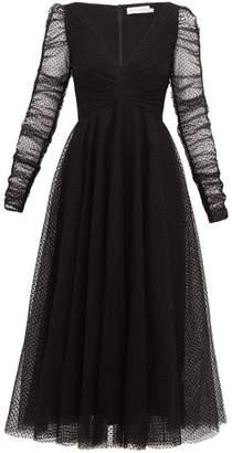 Zimmermann Espionage Tulle Ballet Dress - Womens - Black