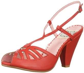 Bettie Page Women's BP403-Aria Heeled Sandal