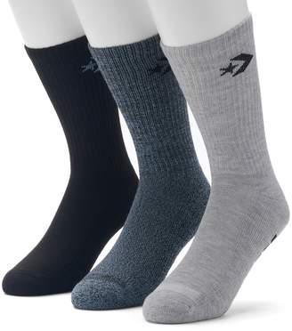 Converse Men's 3-pack Chevron Crew Socks