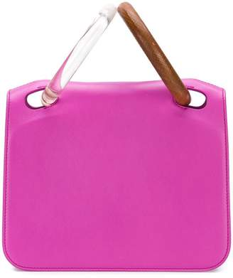 Roksanda hoop handle tote