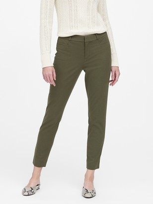 Banana Republic Modern Sloan Skinny-Fit Brushed Washable Pant