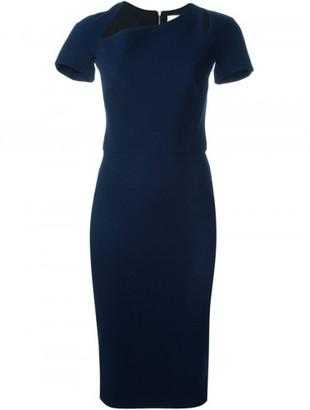 Victoria Beckham cut-out fitted dress