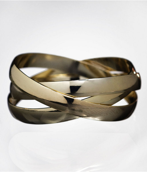 Interlocking Metal Bangles