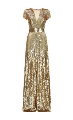 Temperley London Ray Sequin Gown