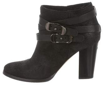 Jimmy Choo Melba Suede Ankle Boots